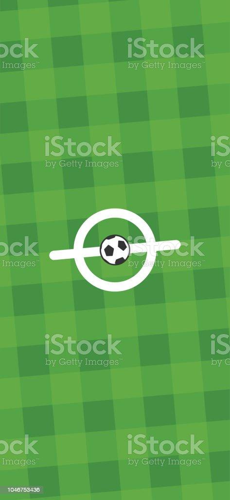Start Symbol Fussball Fussballwebapp Stories Vorlage Reporting