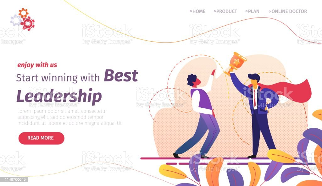 Start Winning With Best Leadership Banner Success Stock Illustration Download Image Now Istock