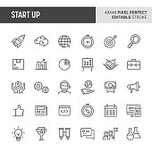 Start-Up Icon Set