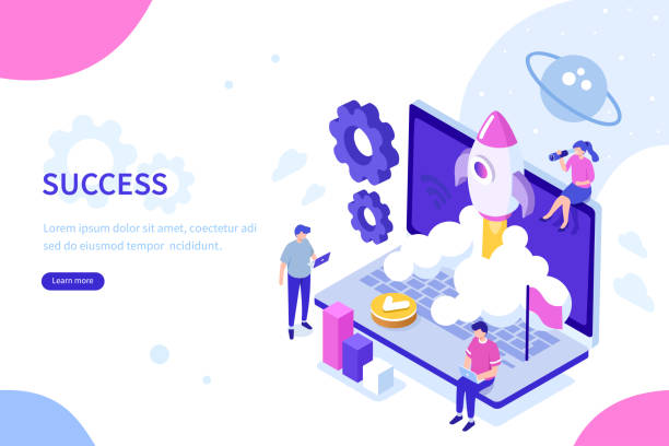 ilustrações, clipart, desenhos animados e ícones de inicialização do - startup
