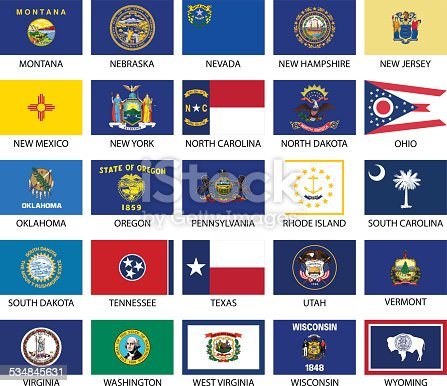 istock State Flags 534845631