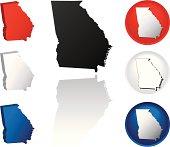 State of Georgia Icons
