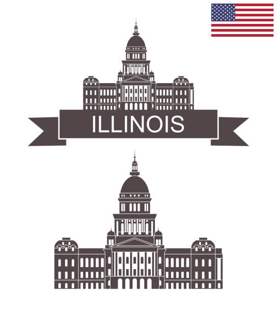 Royalty Free Illinois State Capitol Clip Art Vector Images Amp Illustrations Istock
