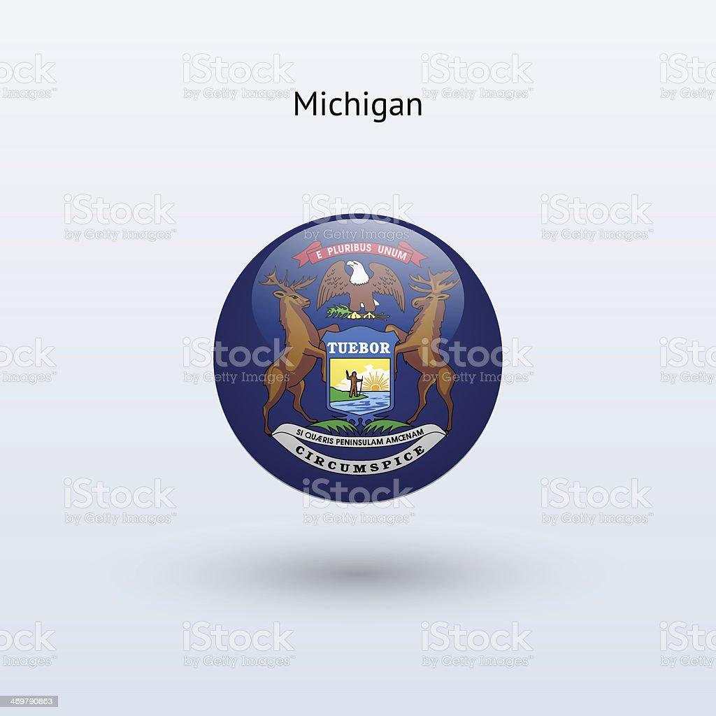 Bandera Del Estado De Michigan - Arte vectorial de stock y más ...