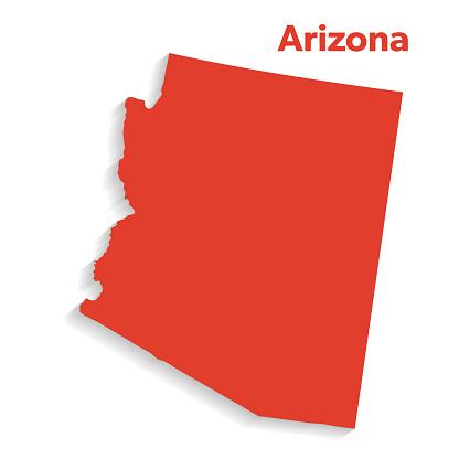 U.S State With Capital City, Arizona