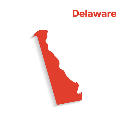 U.S State With Capital City, Delaware
