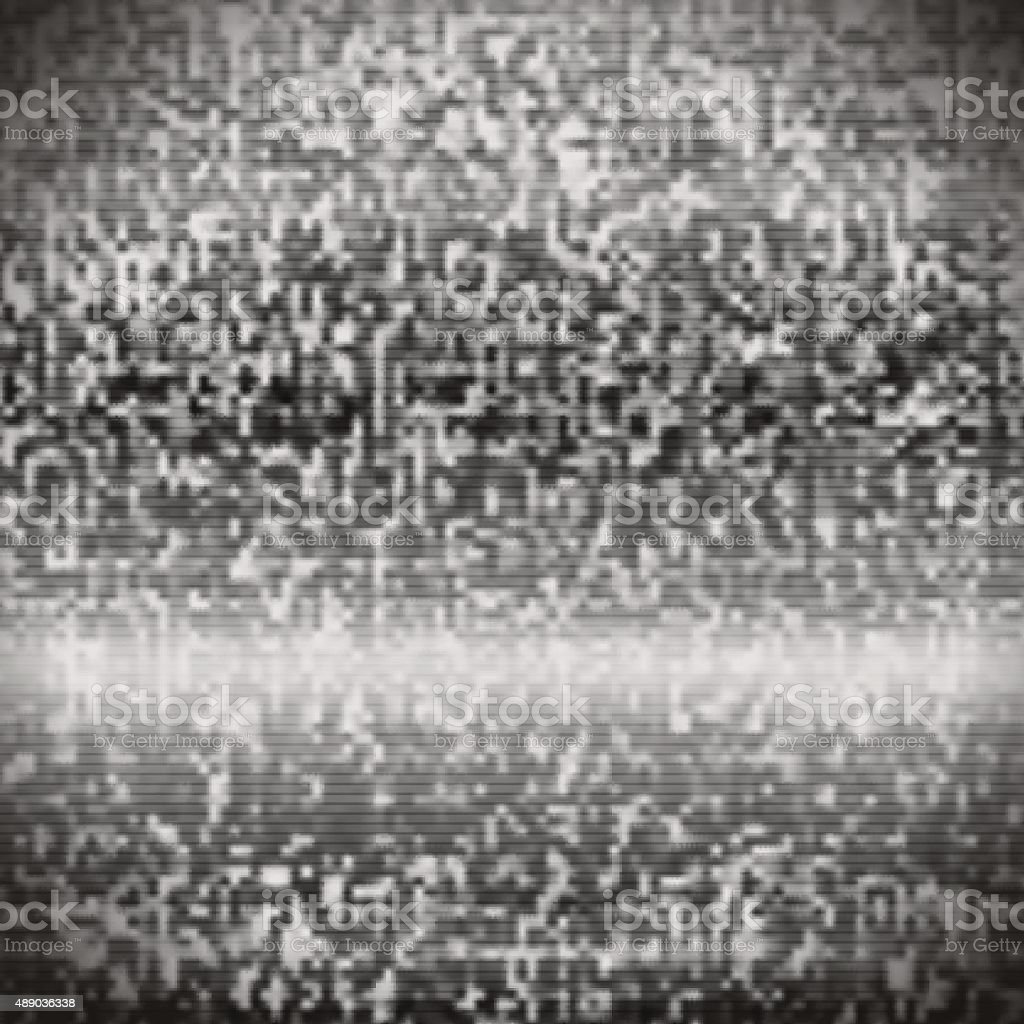 Tv Static Noise Stock Illustration - Download Image Now - iStock