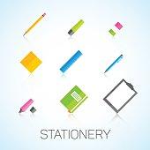 Stationery set.