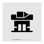Stationery Shop Icon