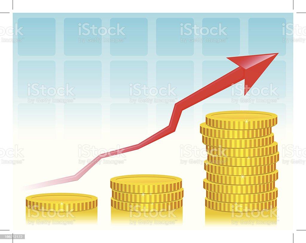 Statistic Board royalty-free stock vector art
