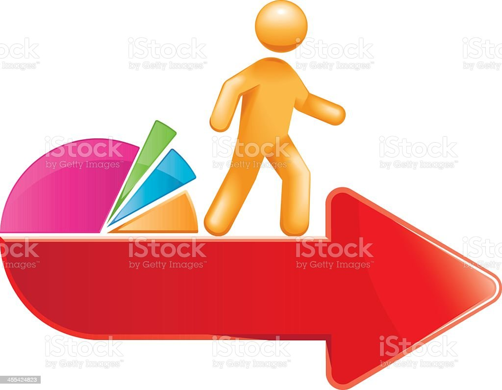 Statistical Conclusion royalty-free stock vector art