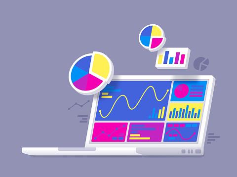 Statistics Data Analysis Laptop