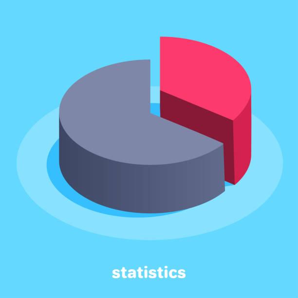 statistics vector art illustration
