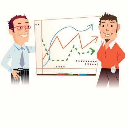 Stats Look Good Stock Illustration - Download Image Now