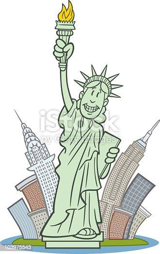 istock Statue of Liberty in New York 103975543