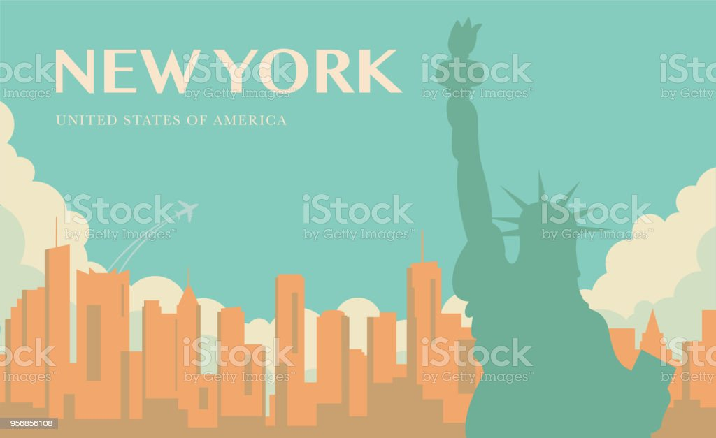 Statue Of Liberty New York Landmark And Symbol Of Freedom And