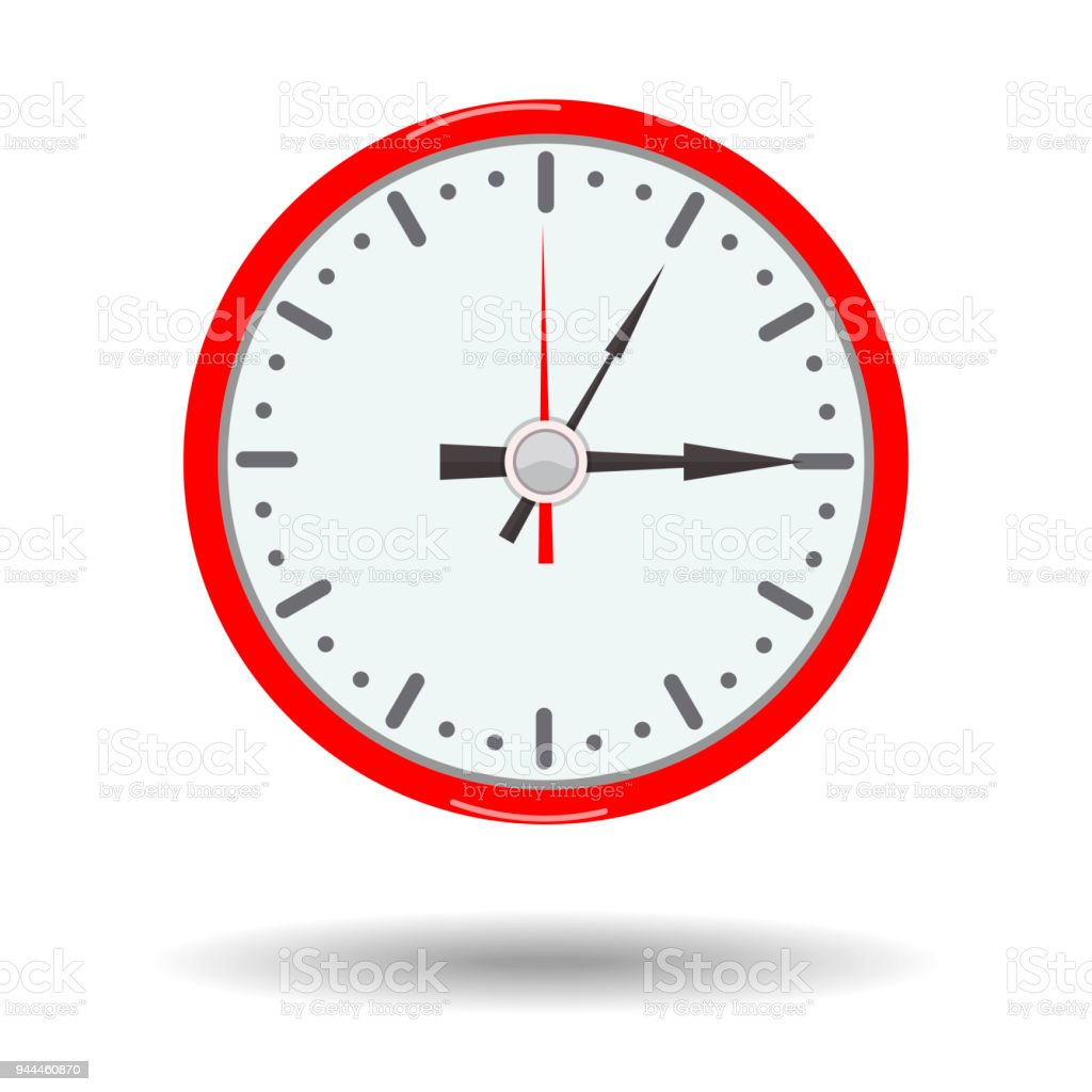 stay flat design clock clipart time isolated on white background rh istockphoto com time change clock clipart time change clock clipart