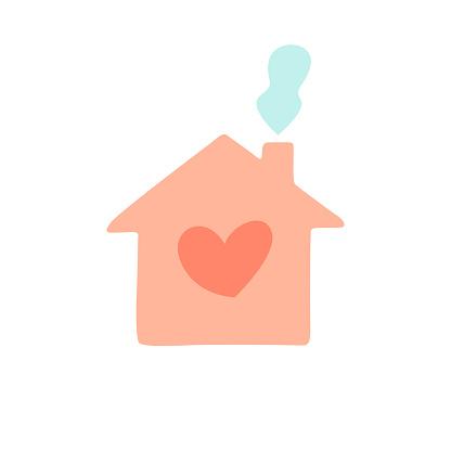 Stay Home - CoronaVirus Covid-19 icon and social design vector illustration.