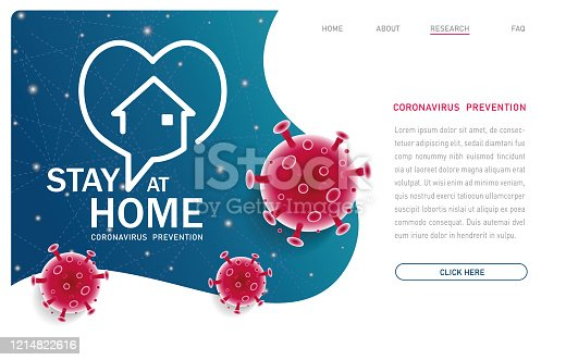 istock Stay Home - Pandemic 1214822616