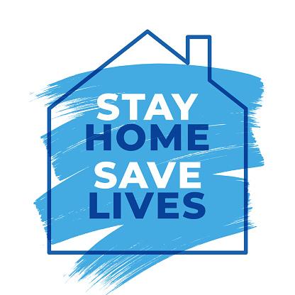 stay home save lives hashtag quarantine, coronavirus epidemic vector illustration, stay home save lives hashtag quarantine, coronavirus epidemic vector illustration