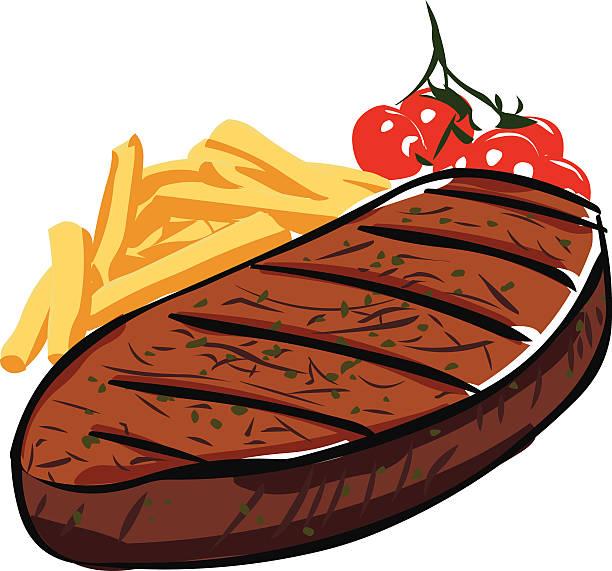 steak - kobe stock-grafiken, -clipart, -cartoons und -symbole