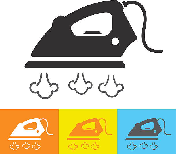 Steam Iron Clip Art ~ Royalty free ironing clip art vector images