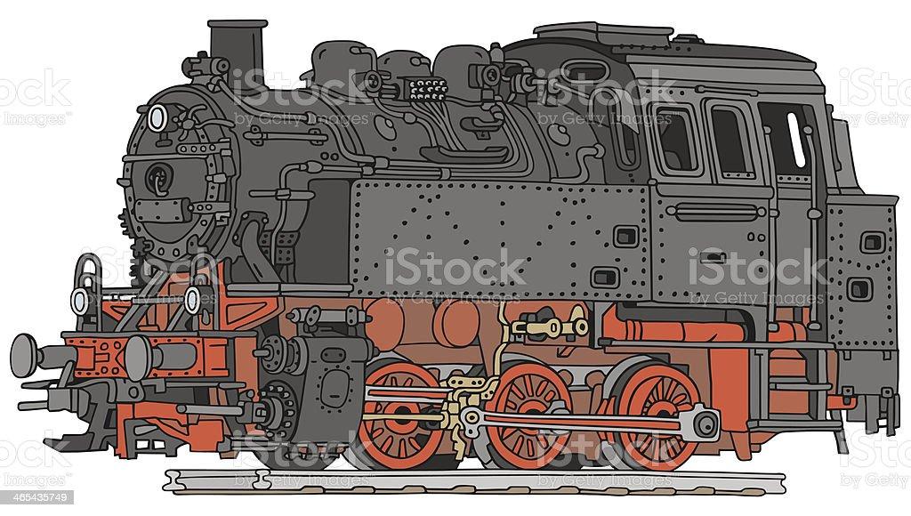 Ilustración de Locomotora De Vapor y más banco de imágenes de Andén ...