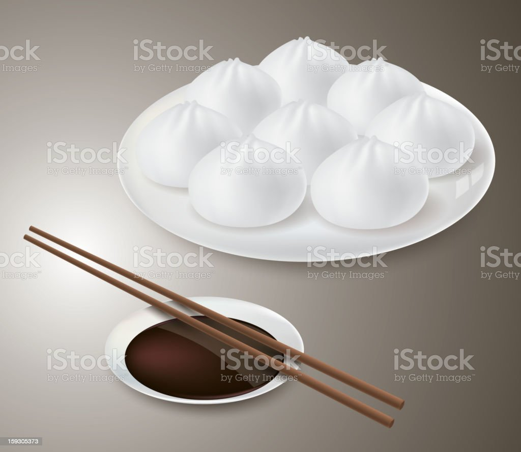 Steamed bun royalty-free steamed bun stock vector art & more images of appetizer
