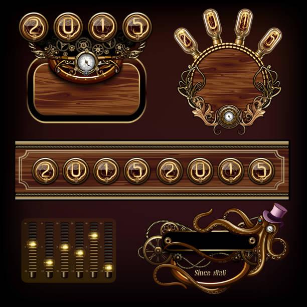 steampunk konzepte - steampunk stock-grafiken, -clipart, -cartoons und -symbole