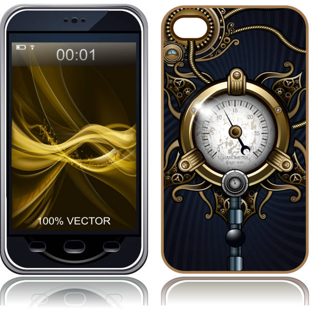 Best Phone Cover Illustrations, Royalty-Free Vector Graphics