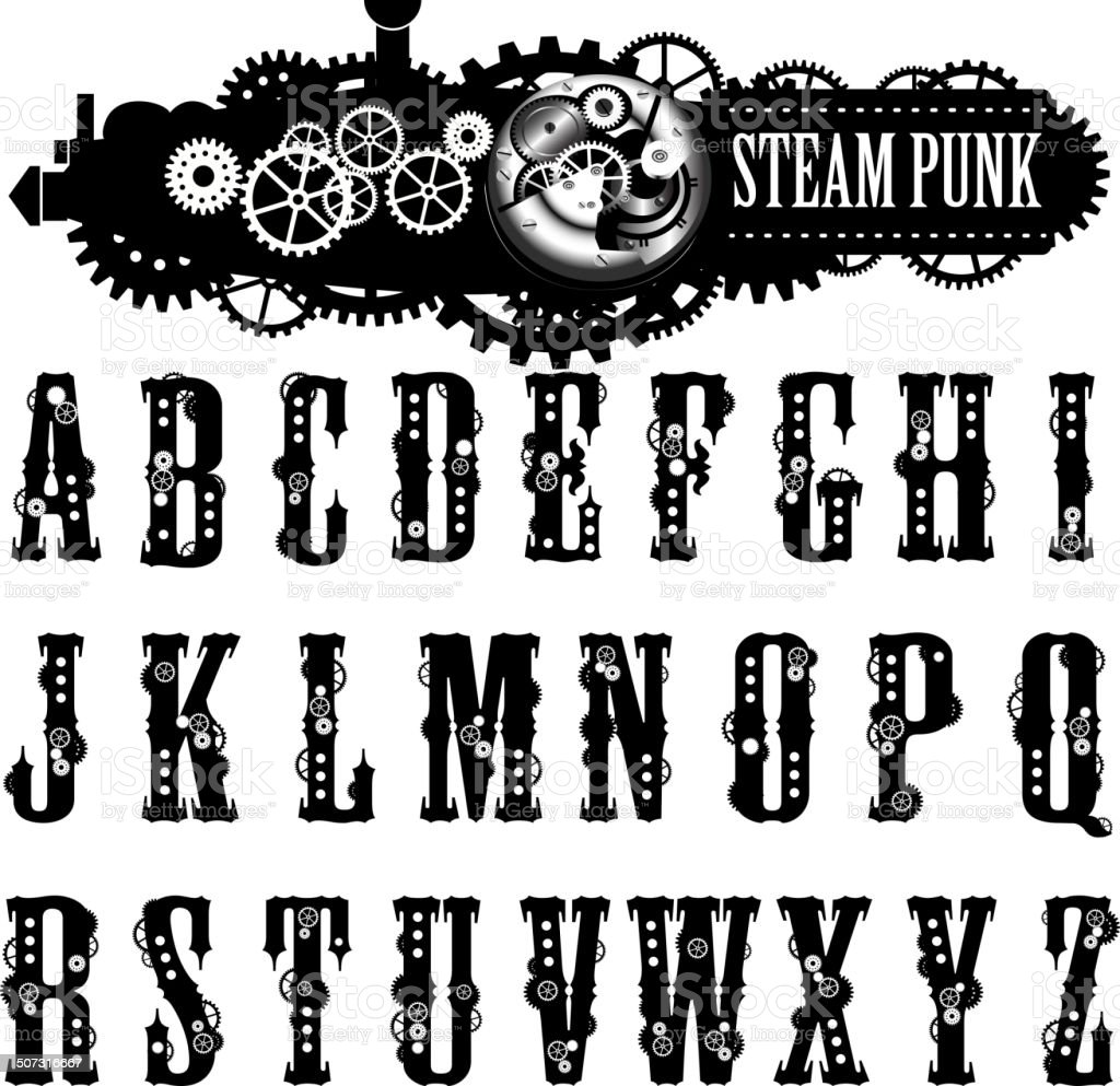 2019 Font: Engineering Lettering Font Style Download