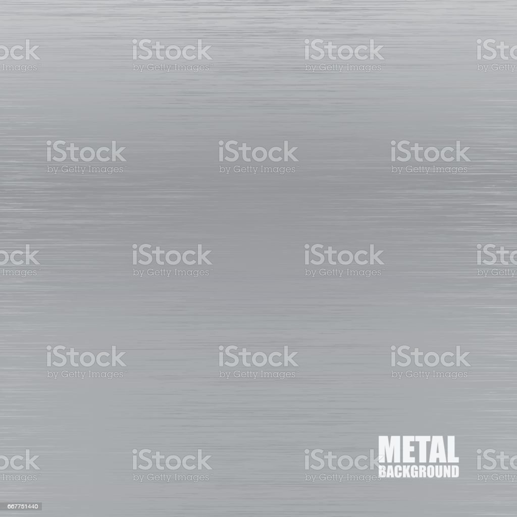 Steel brushed texture background vector art illustration
