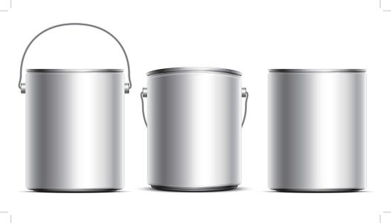 Steel Can Buckets