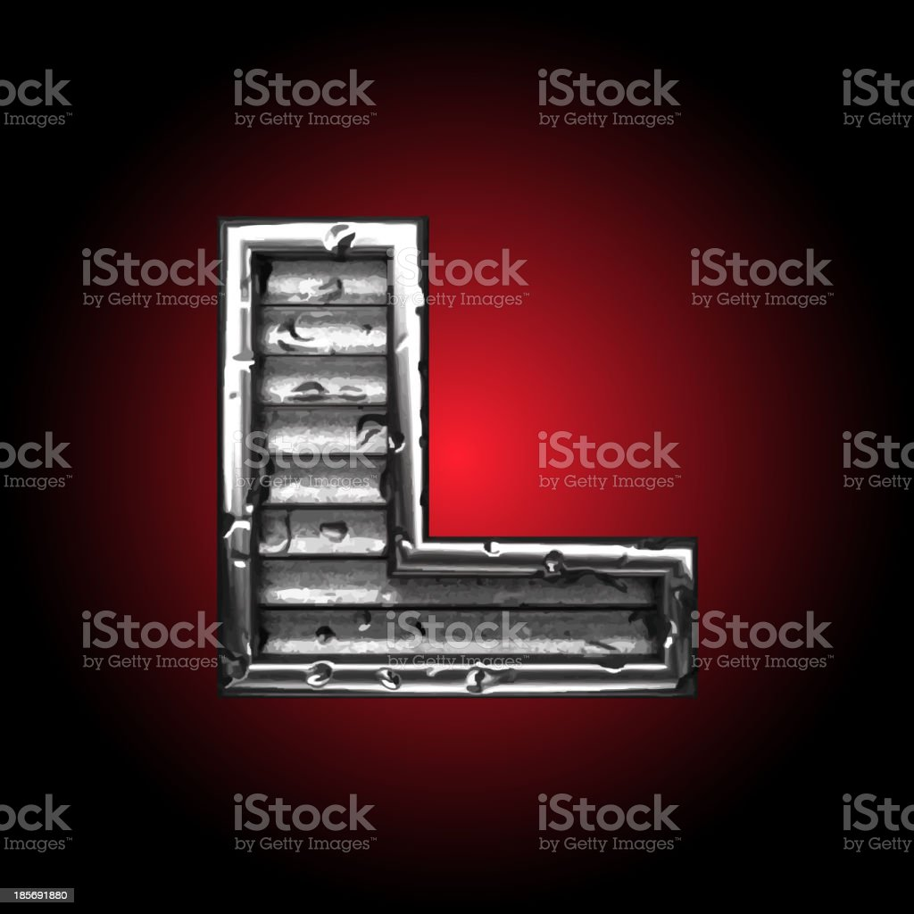 steel figure royalty-free steel figure stock vector art & more images of alphabet