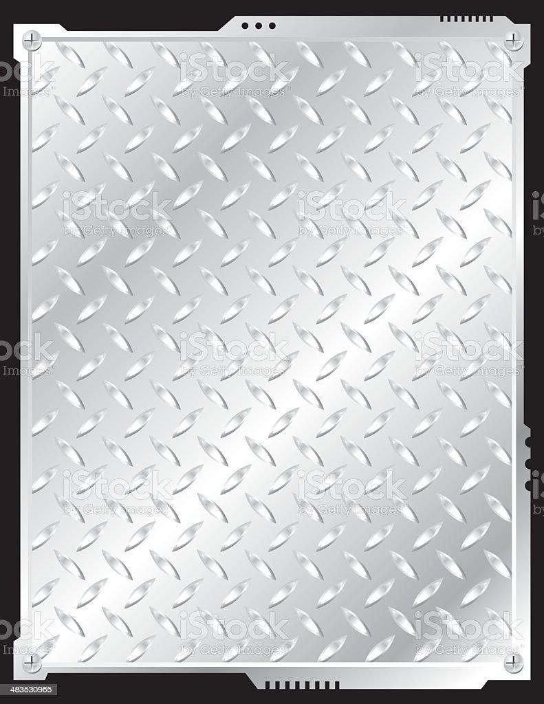steel frame vector art illustration