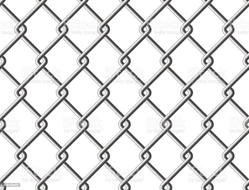 Steel Mesh Metal Fence Seamless Structure Stock Illustration Download Image Now Istock