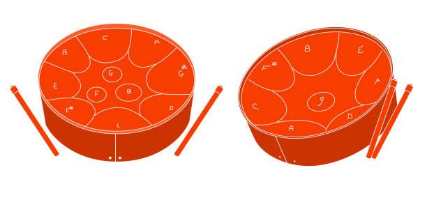 Royalty Free Steel Drum Clip Art, Vector Images ...