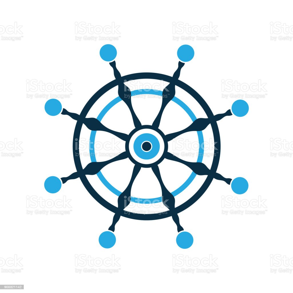 steering wheel ship rudder nautical pictogram vector logo stock illustration download image now istock steering wheel ship rudder nautical pictogram vector logo stock illustration download image now istock