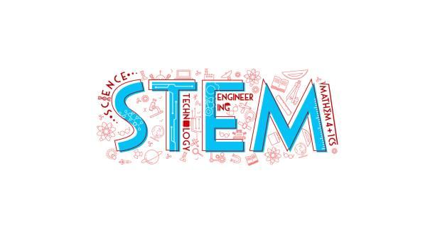 stem typography icon illustration - plant stem stock illustrations