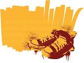 stencil sneakers