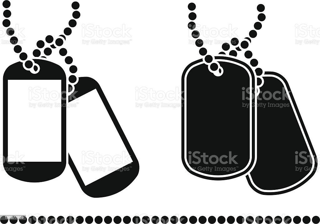 royalty free military dog tag clip art vector images rh istockphoto com military dog tag clipart army dog tag clipart