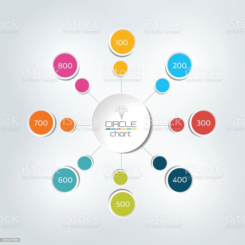 12+ 8 Schritte Miteinander Verbunden Kreis Runde Infografik Vector ... Galerie