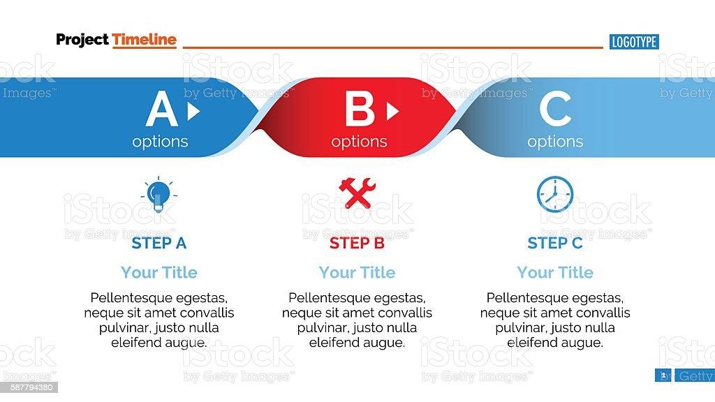Abc Steps Infographic Diagram Slide Stock Vector Art & More Images ...