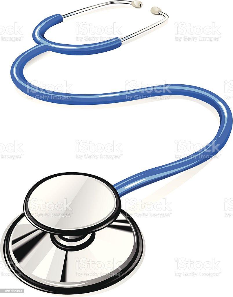 Stethoscope vector art illustration