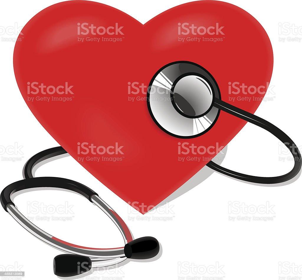 Stethoscope royalty-free stock vector art