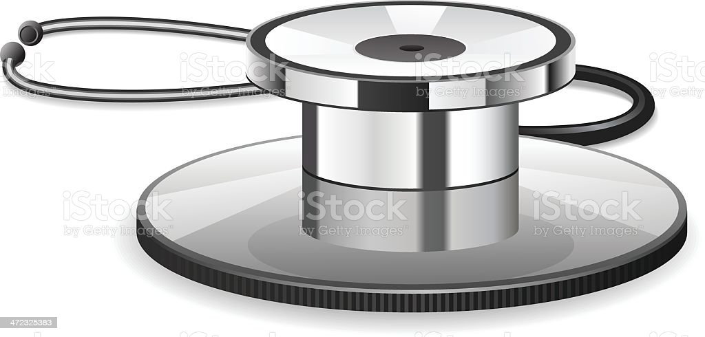 Stethoscope royalty-free stethoscope stock vector art & more images of accidents and disasters