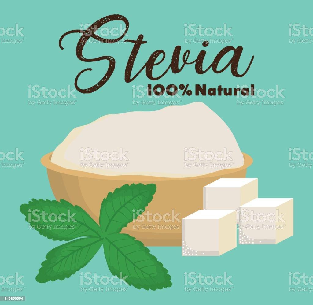 Steviakonzeption Stock Vektor Art und mehr Bilder von Alternativer ...