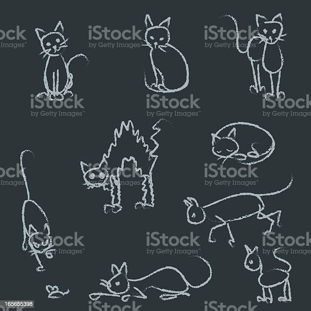 Stick figure cats on chalkboard vector id165655398?b=1&k=6&m=165655398&s=612x612&h=imlshd z8htyl73fqnmlkurqygub5w7rtiahbgiee3s=