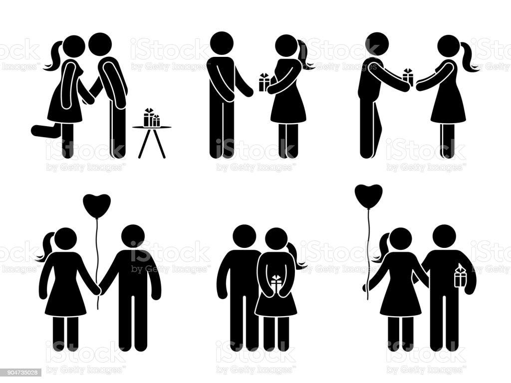 Dating en gift man med en flickvän
