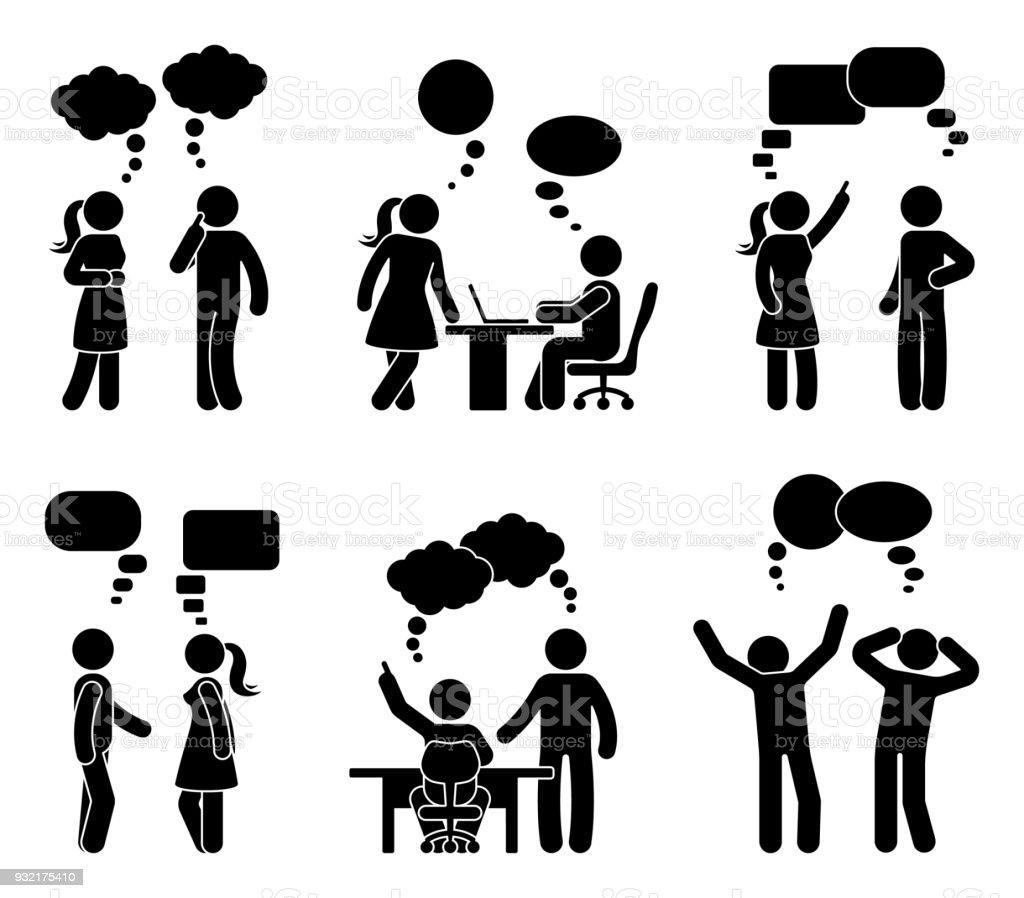 stick figure vector speech bubble world wide clip art website